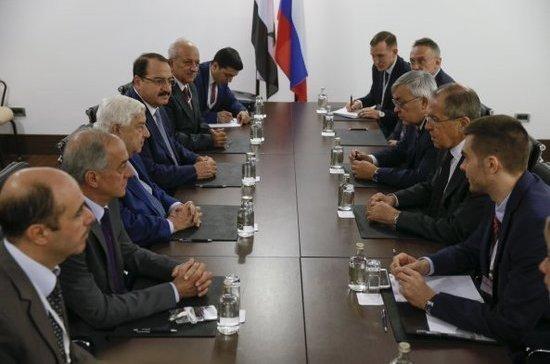 Глава МИД Сирии: Дамаск будет требовать роспуска возглавляемой США коалиции