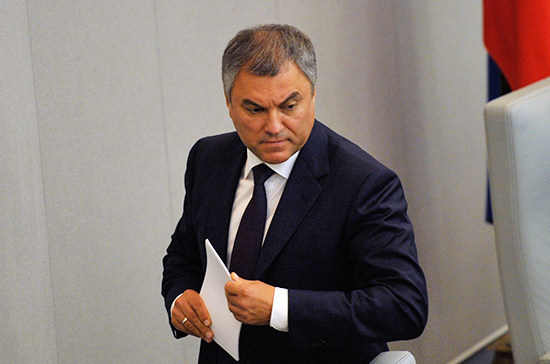Володин допустил возможность неисполнения РФ решений структур Совета Европы