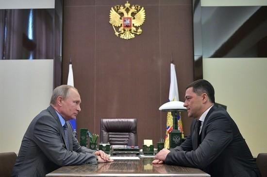 Врио губернатора Псковской области представят в регионе 13 октября