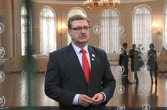 Ситуация вокруг КНДР может стать темой чрезвычайных дебатов на Ассамблее МПС, заявил Косачев