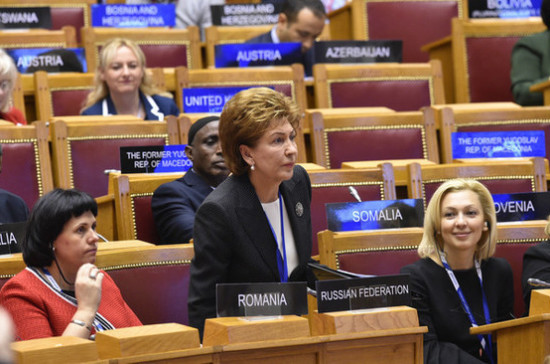 Карелова надеется, что женщины-парламентарии внесут весомый вклад в решения ассамблеи МПС