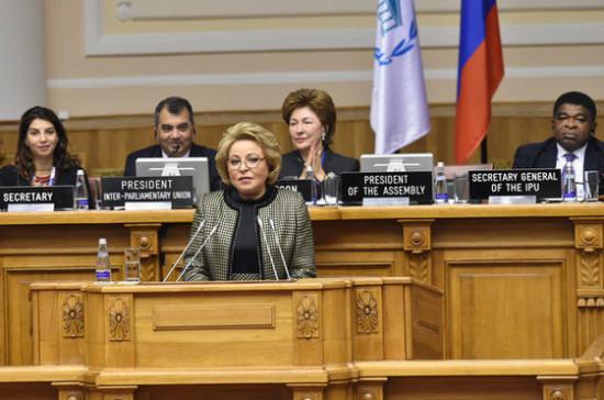 Матвиенко заявила, что необходимо расширять торгово — экономические связи с ОАЭ
