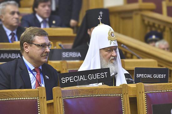 Патриарх Кирилл: Православная церковь— основа для примирения вУкраинском государстве