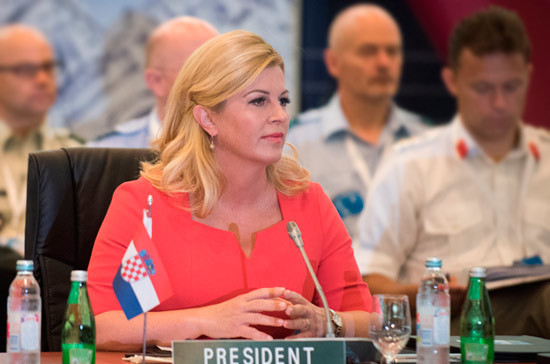 Путин проведёт встречу с президентом Хорватии в Сочи 18 октября