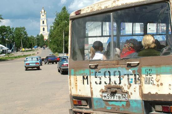 В России могут создать реестр недобросовестных автобусных перевозчиков