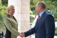 Президент Хорватии представила Путину «инициативу трёх морей»