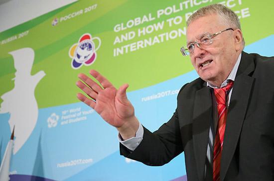 Жириновский прокомментировал заявление Собчак об участии в выборах президента