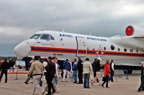 МЧС выделили 2 млрд рублей на оплату производства самолетов-амфибий Бе-200