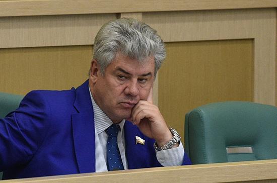 Сенатор Бондарев прокомментировал признание США использования химоружия в Сирии террористами