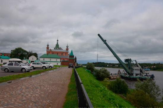 У Никольского монастыря под Петербургом появится новый причал