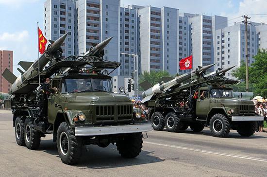 Северная Корея обвинила США в игре в «ядерный футбол»