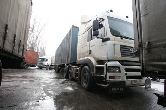 Водителям грузовиков увеличат штрафы за нарушения