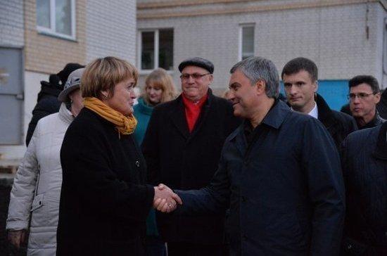 Вячеслав Володин призвал продолжить благоустройство частного сектора в городах и сельской местности