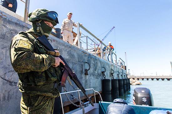 В Латвии заявили об обнаружении у своей границы военных кораблей РФ