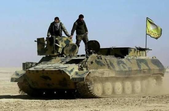 SDF заявили о контроле над нефтяным месторождением в Дейр эз-Зоре