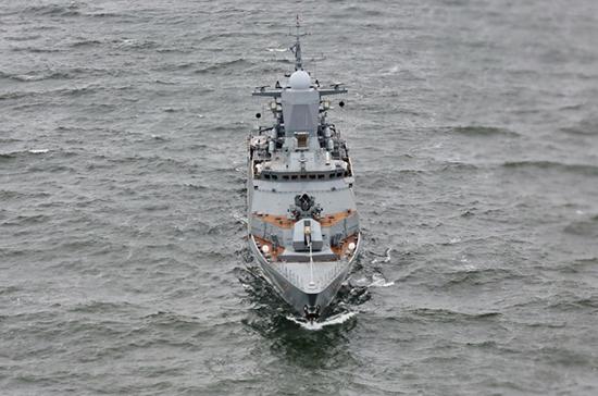 Отряд кораблей Балтийского флота России вошёл в Ла-Манш