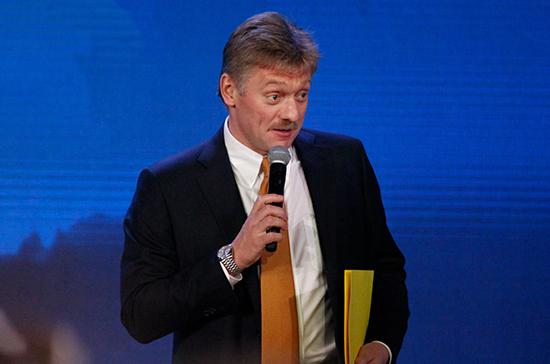 Песков: в прикладном плане обсуждения реформы избирательной системы не ведётся