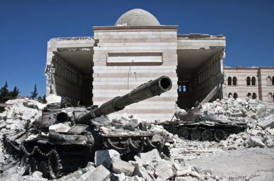 Правительственные войска обстреляли позиции террористов в Дамаске