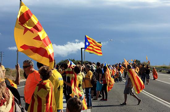 Правительство Испании допустило возможность применения силы в Каталонии