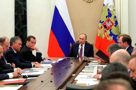 Путин предложил усилить персональную ответственность чиновников за кибербезопасность