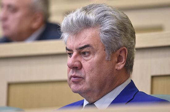 Сенатор Бондарев поддержал заложенные в бюджете средства на оборону