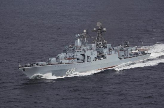 Российский военный флот на 90% перешел на контрактную службу