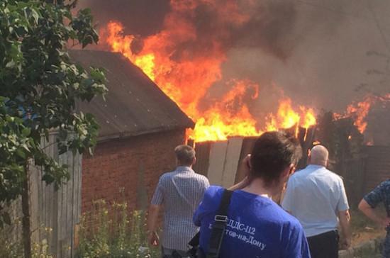 Ростовские власти решили снести 163 здания, пострадавшие от крупнейшего в регионе пожара