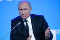 Путин заявил о двукратном сокращении в России числа признанных иноагентами НКО