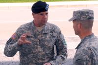 В Литве за учениями наблюдал командующий сухопутными силами США в Европе