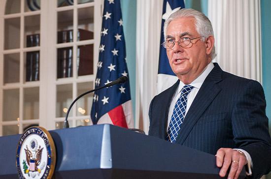 Тиллерсон призвал конгресс разрешить использовать силу против террористов без ограничений