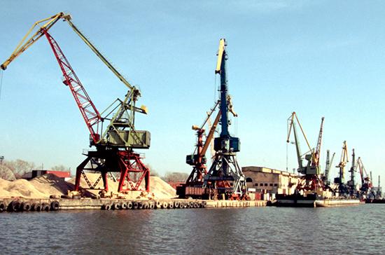 Реконструкцию портов оплатят с помощью нового сбора
