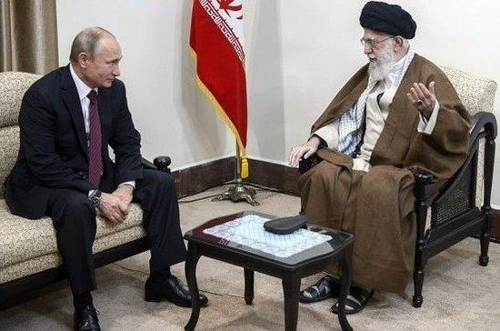 Путин встретился саятоллой Хаменеи