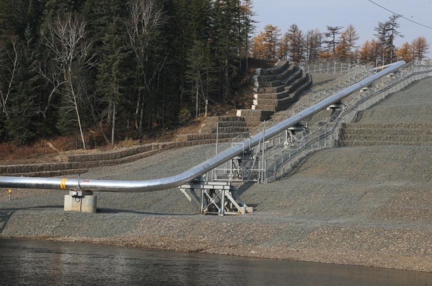 В «Газпроме» рассказали о ходе строительства газопровода «Сила Сибири»