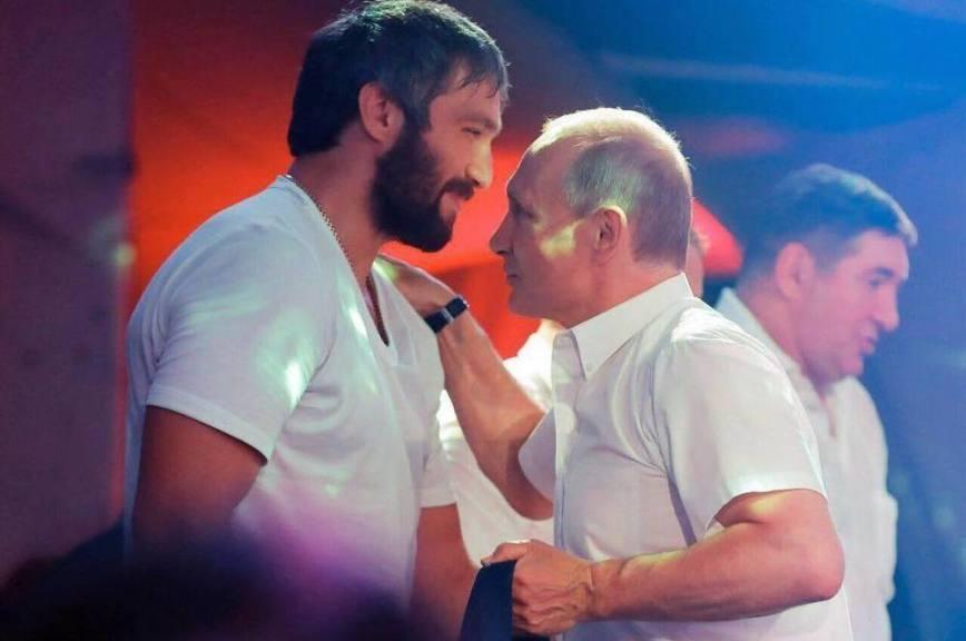 Овечкин объявил о создании «команды Путина»