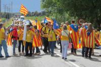 Сторонники независимости Каталонии собрались на митинг в Барселоне