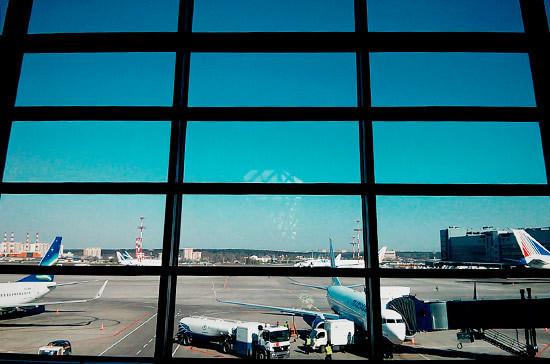 В аэропорту Внуково произошло задымление