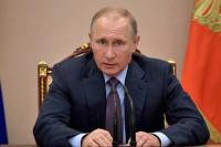 Путин предостерёг от превращения горячих точек в источник доходов для торговцев оружием