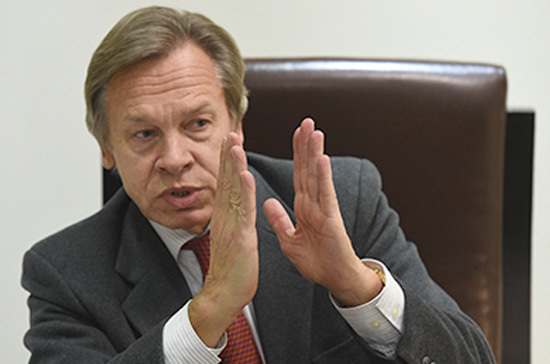 Пушков: Российская Федерация может использовать упреждающие меры вотношении иностранных СМИ