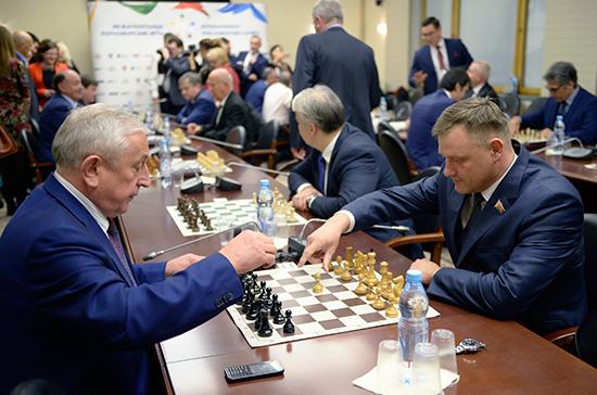 Российские политики выиграли VIII Межпарламентские игры