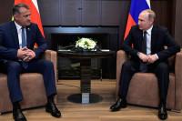 Путин 14 ноября встретится с президентом Южной Осетии