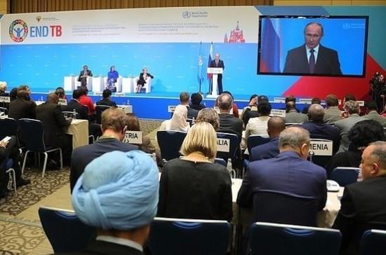Путин констатировал успехи России в борьбе с туберкулёзом