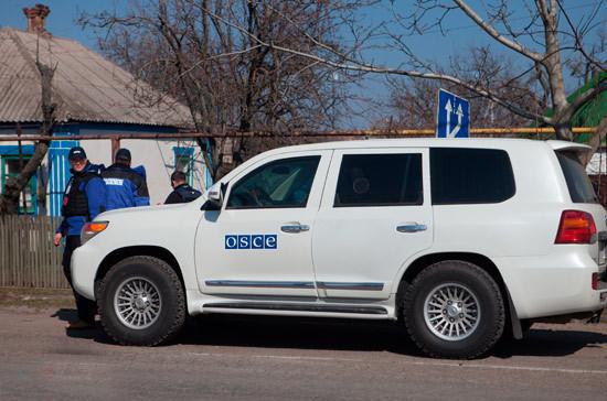 В ОБСЕ предупредили о возможности эскалации конфликта в Донбассе