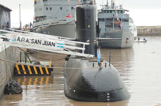 У берегов Аргентины пропала подводная лодка