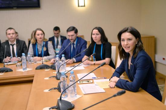 В столице начал свою работу IВсероссийский молодежный форум Государственной думы