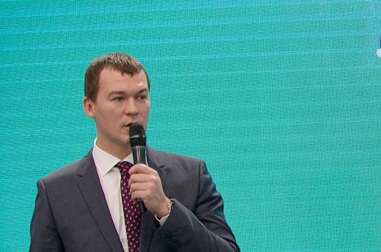 Молодёжь получила возможность привлечь внимание к законодательным проблемам, заявил Дегтярёв
