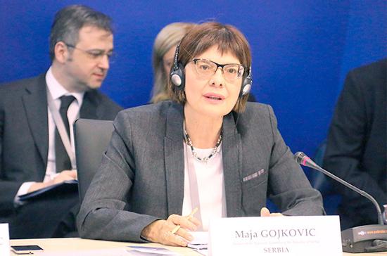 РФ непризнавала инебудет признавать независимость Косово, сообщила Матвиенко