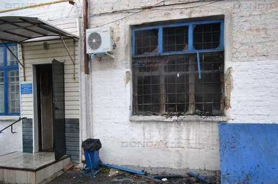 В Донецке Ростовской области сгорело управление ЖКХ со всей документацией