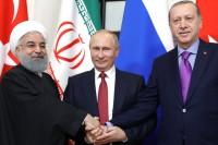 Сирия приветствует совместное заявление России, Ирана и Турции