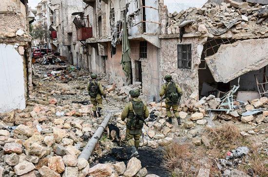 Генштаб анонсировал сокращение российского присутствия в Сирии
