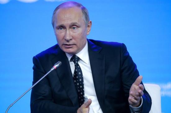 Жители России довольны Путиным на80% - опрос